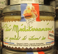 Pâté Méditerranéen au Poulet et Citron de Menton - Produit - fr