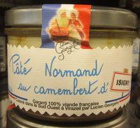 Pâté Normand au Camembert d'Isigny - Produit