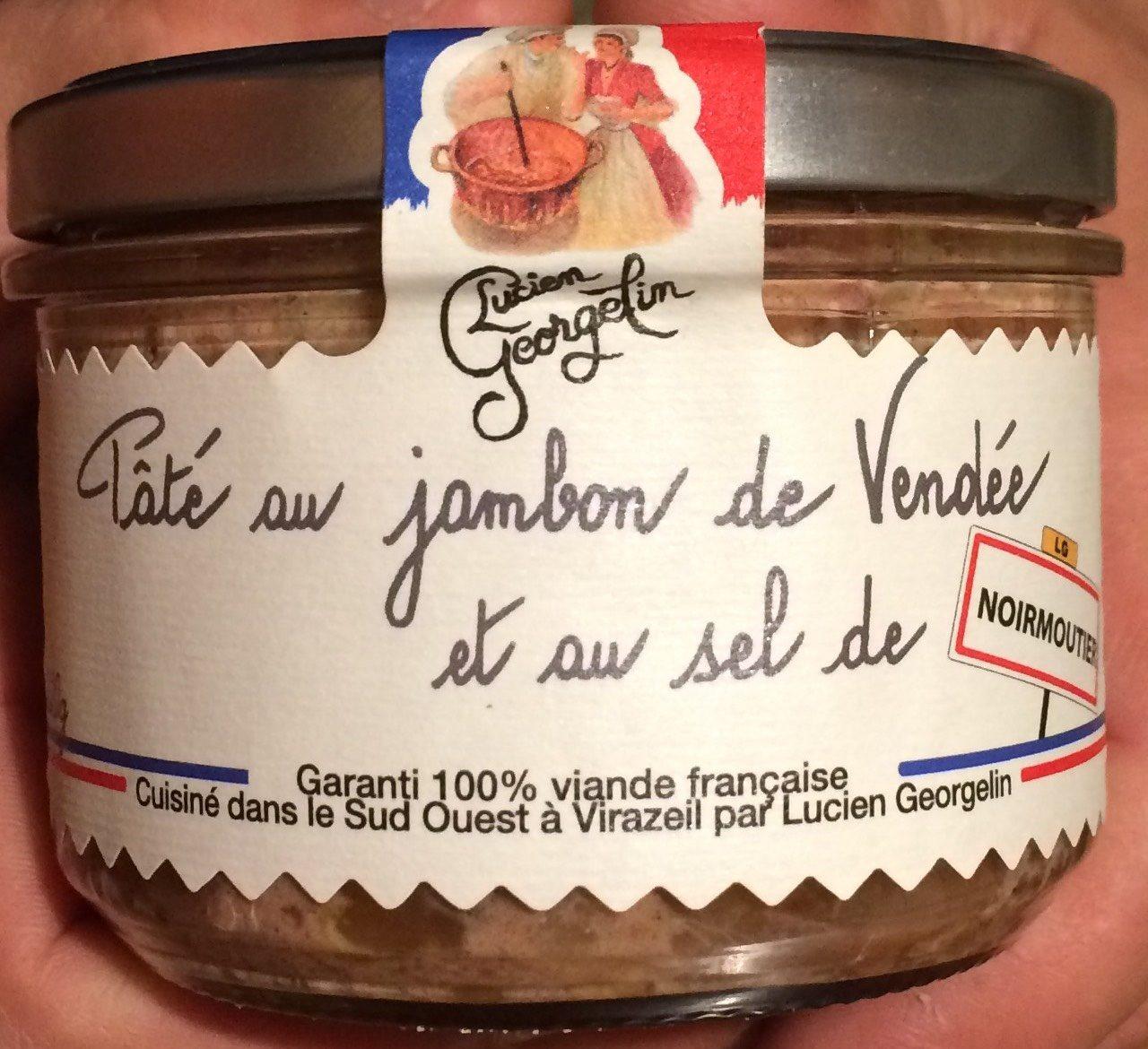 Paté au jambon de vendée et au sel de noirmoutier - Produit - fr