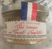 Paté basque au piment d'Espelette - Informations nutritionnelles - fr
