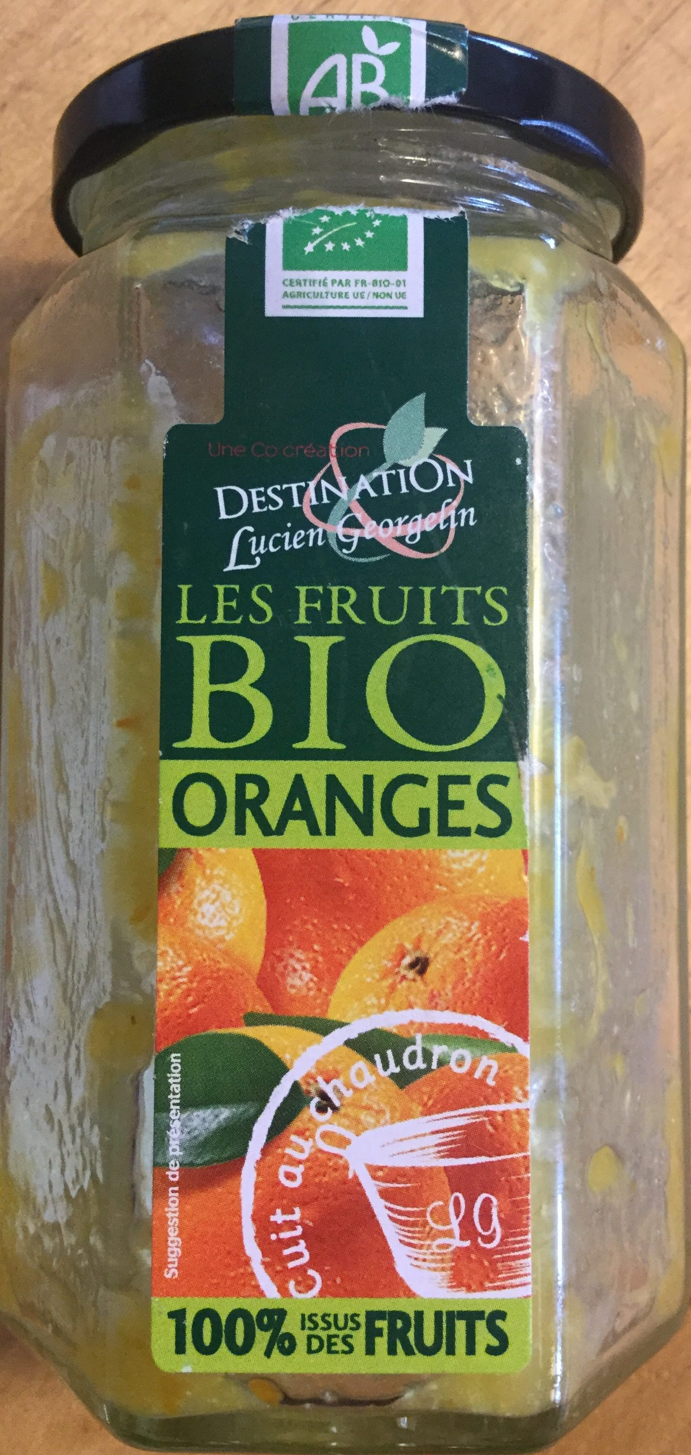 Les fruits bio orange - Prodotto - fr