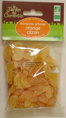 Bonbons arômes Orange Citron - Product