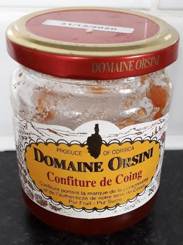 Confiture de Coing - Product