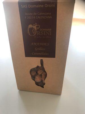 Amandes grillées caramélisées - Produit