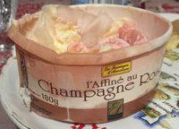 L'Affiné au Champagne Rosé - Produit - fr
