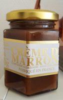 Crème De Marrons De Collobrières - Produit