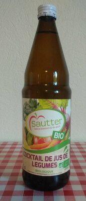 Cocktail de jus de legumes bio SAUTTER - Product
