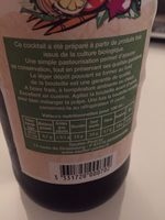 Cocktail de jus de legumes bio SAUTTER - Ingrediënten