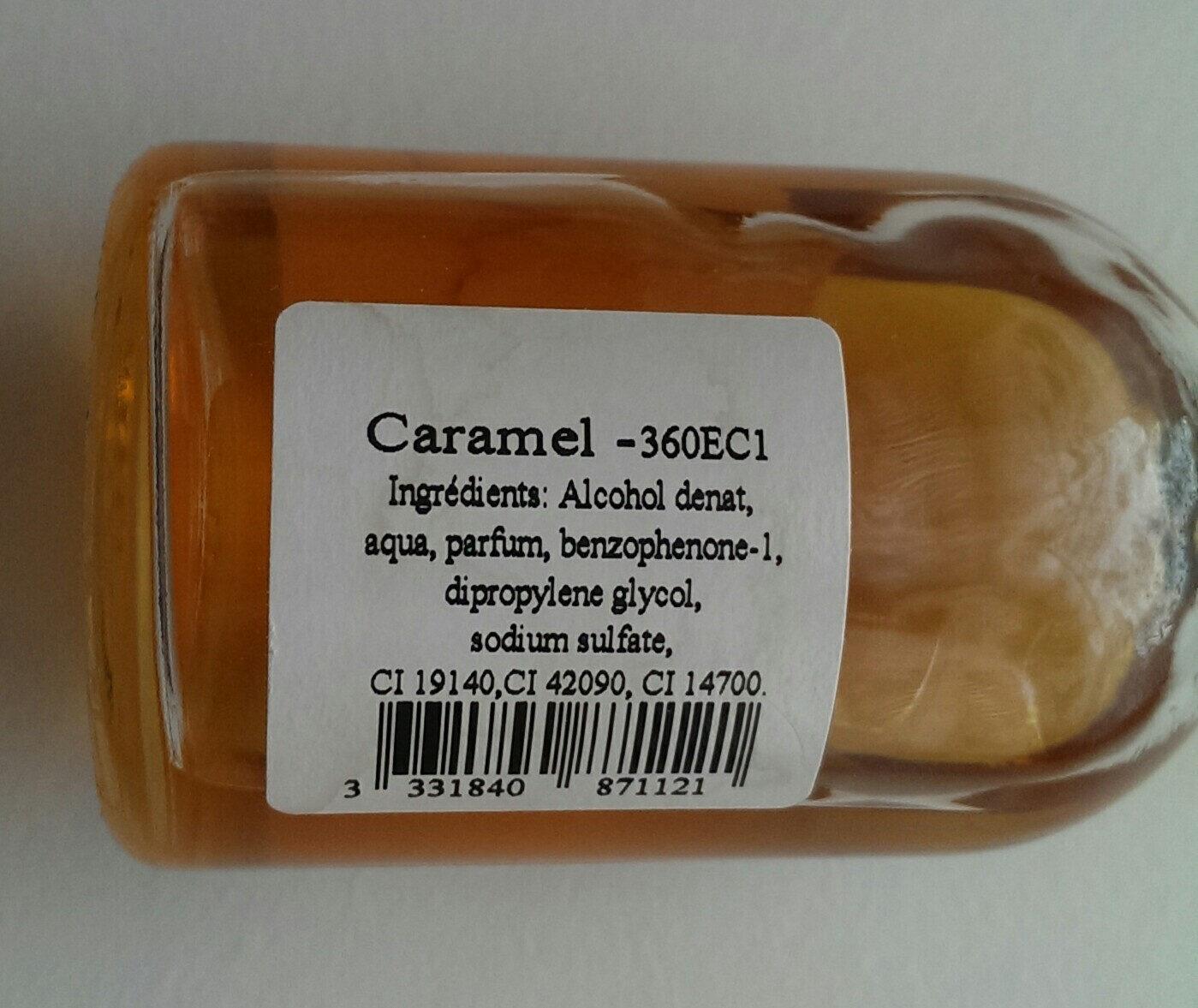 caramel - Ingrédients - fr