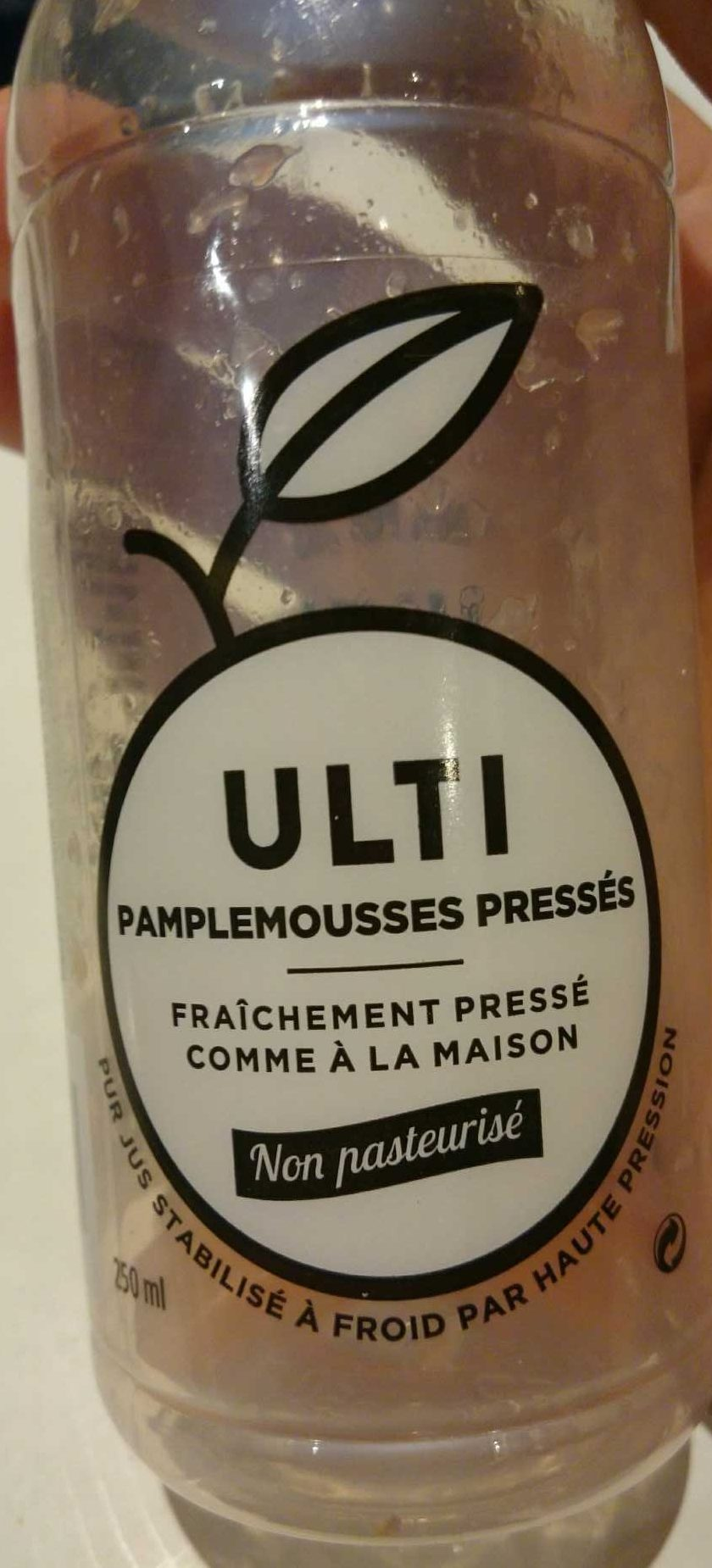 Jus Pamplemousse - Product - fr