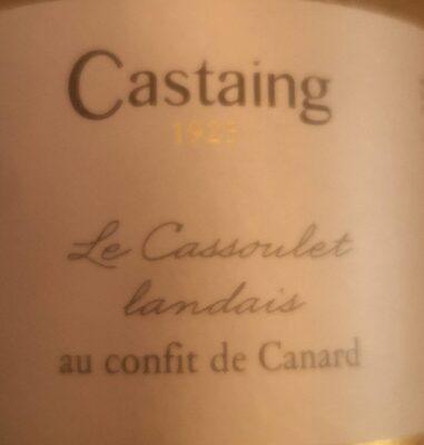 Le cassoulet landais au confit de canard - Produit - fr