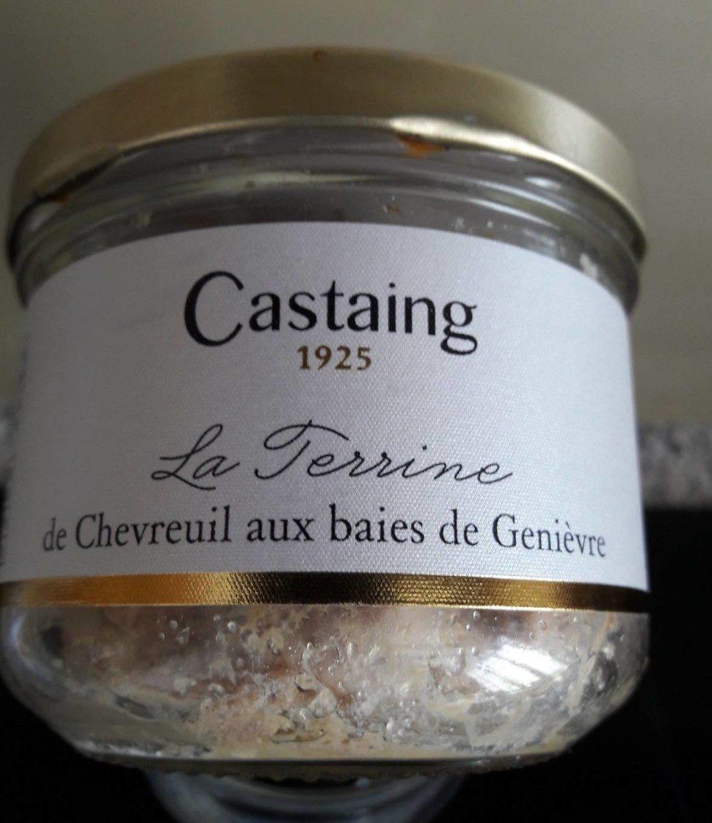 La terrine de Chevreuil aux baies de Genièvre - Produit - fr