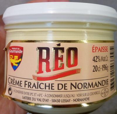 Crème fraîche de Normandie (42 % MG) - Produit - fr