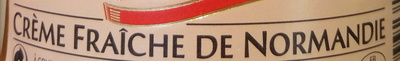 Crème fraîche de Normandie (42 % MG) - Ingrédients - fr