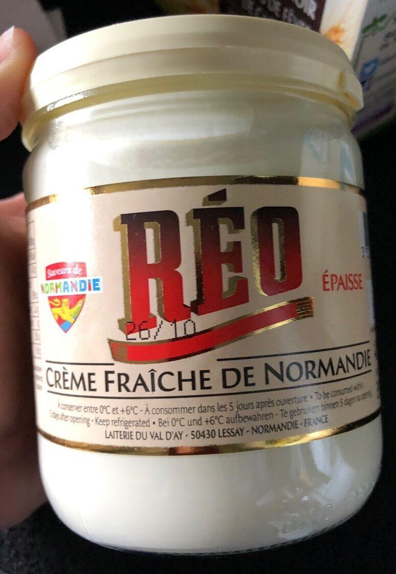 Creme fraiche de Normandie Epaisse 40% - Product - fr