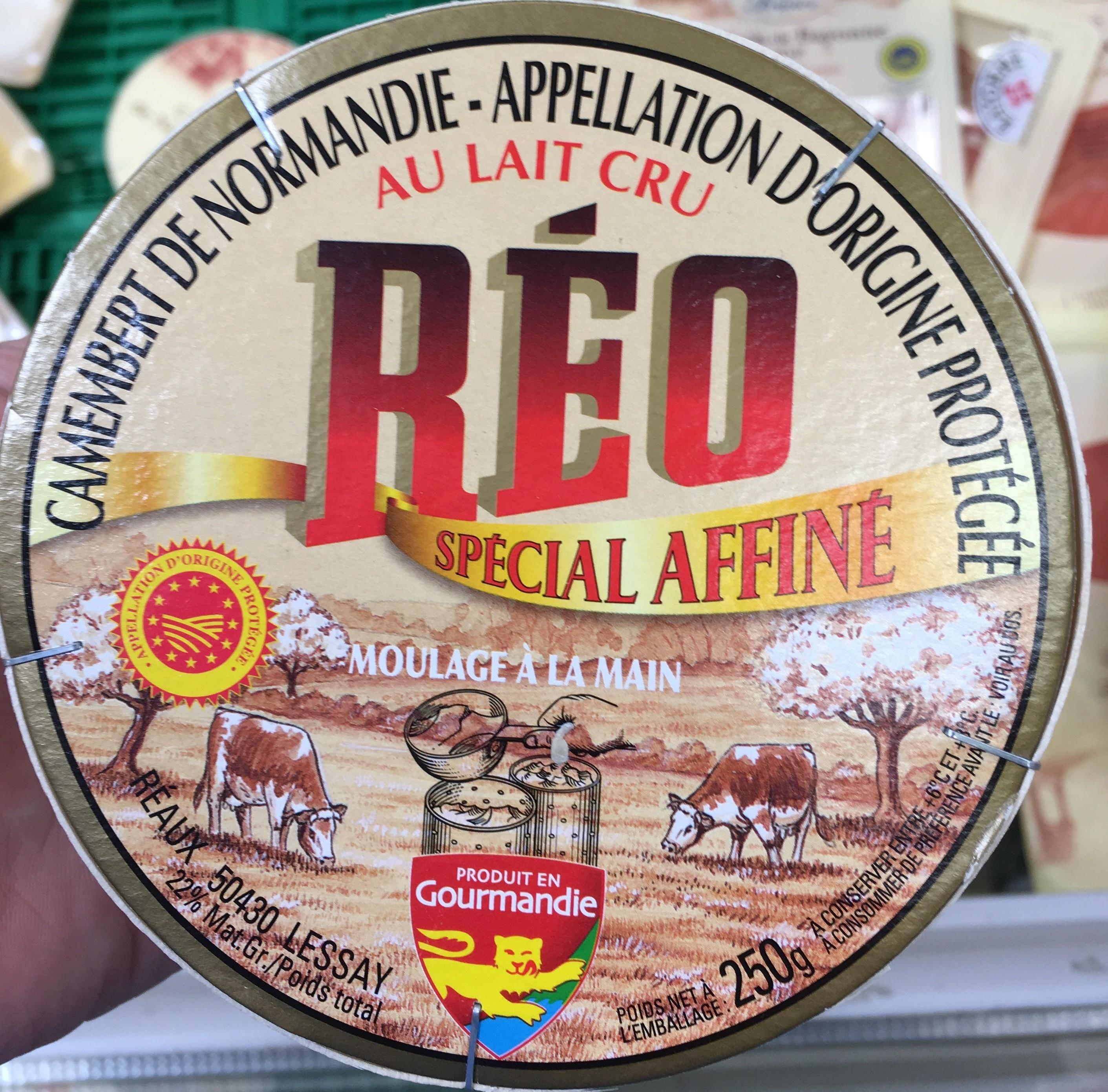 Camembert de Normandie au lait cru spécial affiné - Product - fr