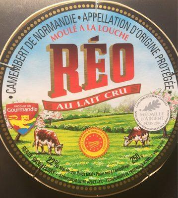 Camembert de Normandie AOP (22% MG) au lait cru - 250 g - - Produit