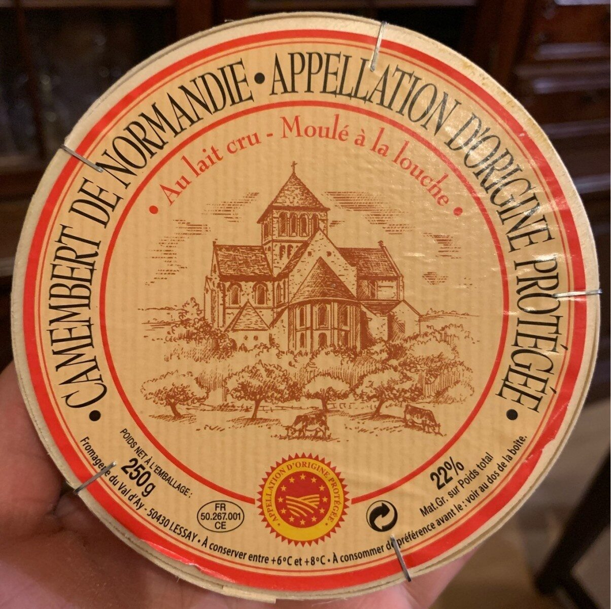 Camembert de Normandie - Abbaye - Product - fr