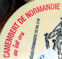 Camembert de normandie au lait cru AOP - Ingrediënten