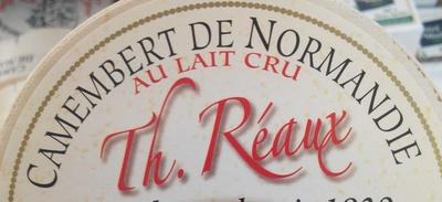 Camembert de Normandie au lait cru (22% MG) - Ingredients - fr