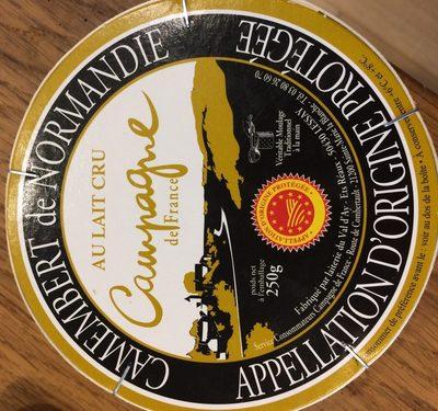Camembert de normandie - Ingrédients - fr