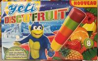 Disc'o'fruit - Produit
