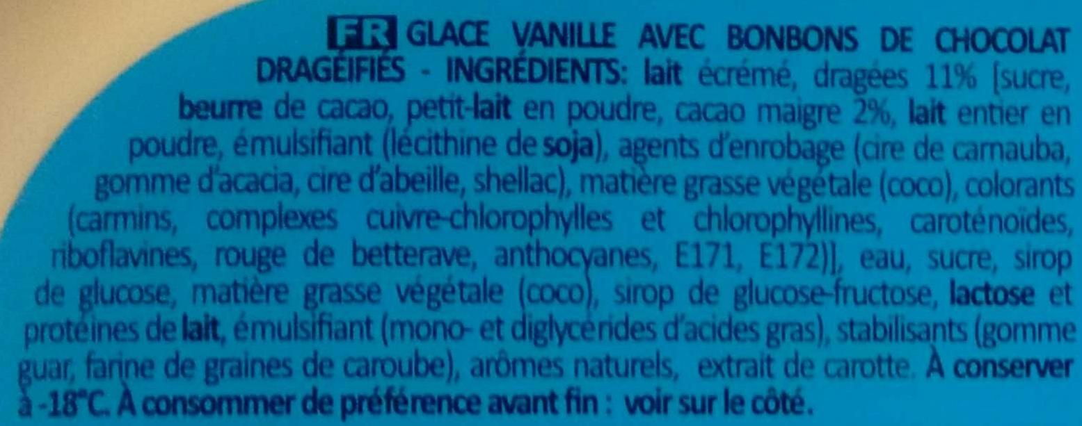 Vanille Candies - Ingrédients - fr