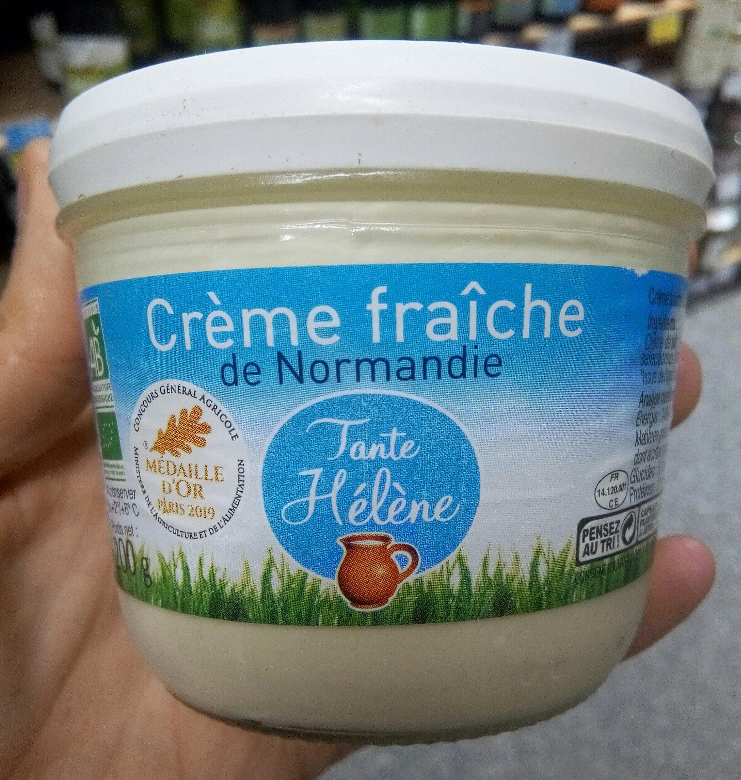 Crème fraîche de Normandie - Product