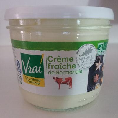 Crème fraîche de Normandie - Produit - fr