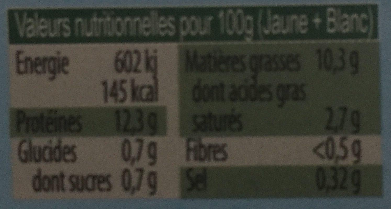 Gros bio - Ingredientes