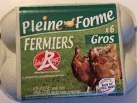 6 œufs fermiers - Product - fr