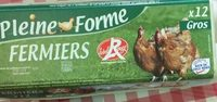 12 oeufs fermiers gros - Product