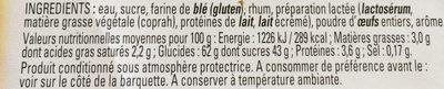 Canelé de Bordeaux - Ingredients