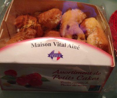 Assortiment petits cakes Maison Vital Aine - Product