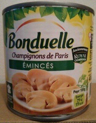 Champignons de Paris émincés - نتاج - fr