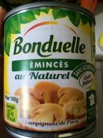 Emincés au naturel Champignons de Paris - Produit - fr