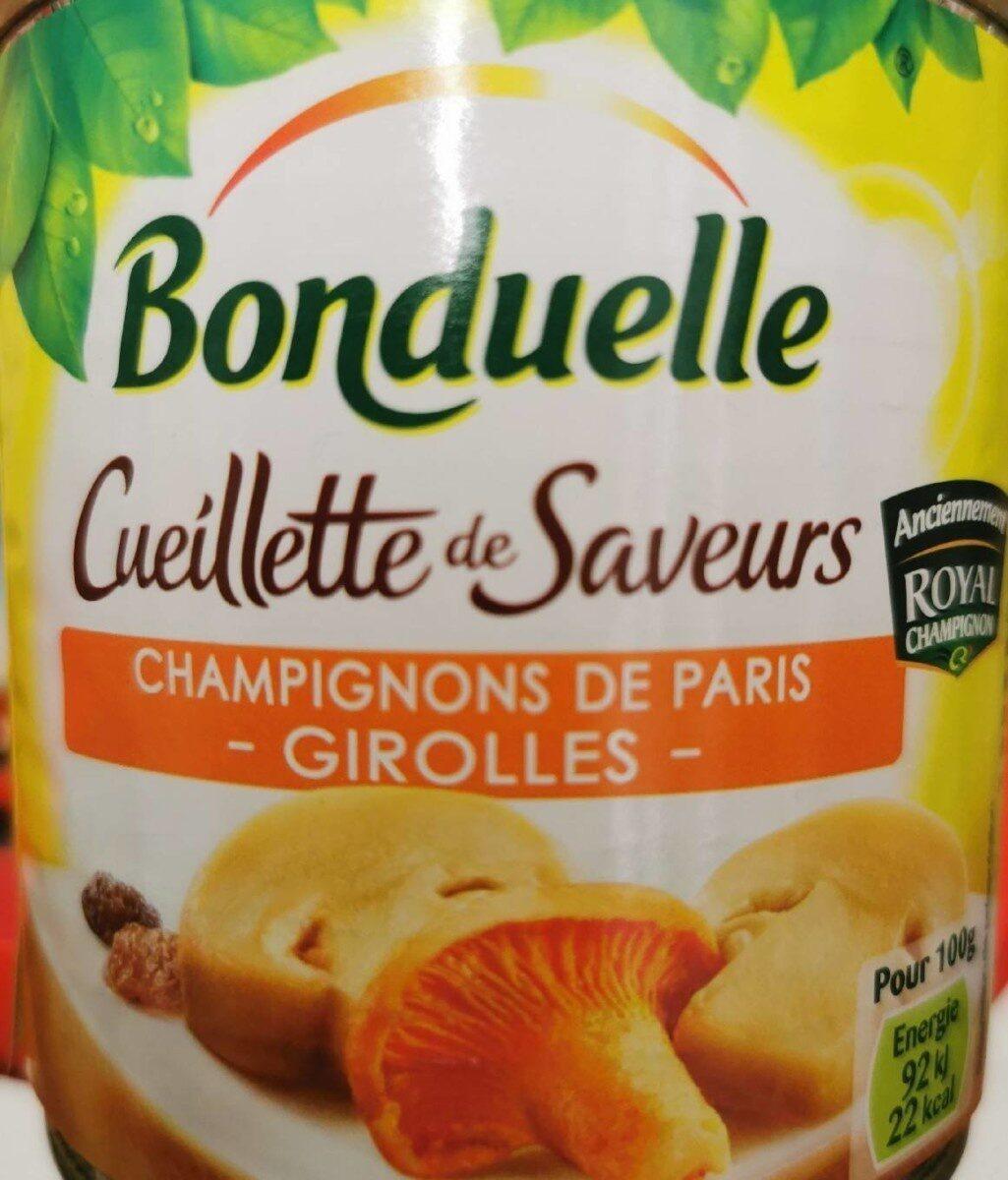 Champignons de Paris Girolles - Produit - fr