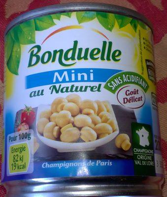 Champignons mini au naturel - Produit - fr