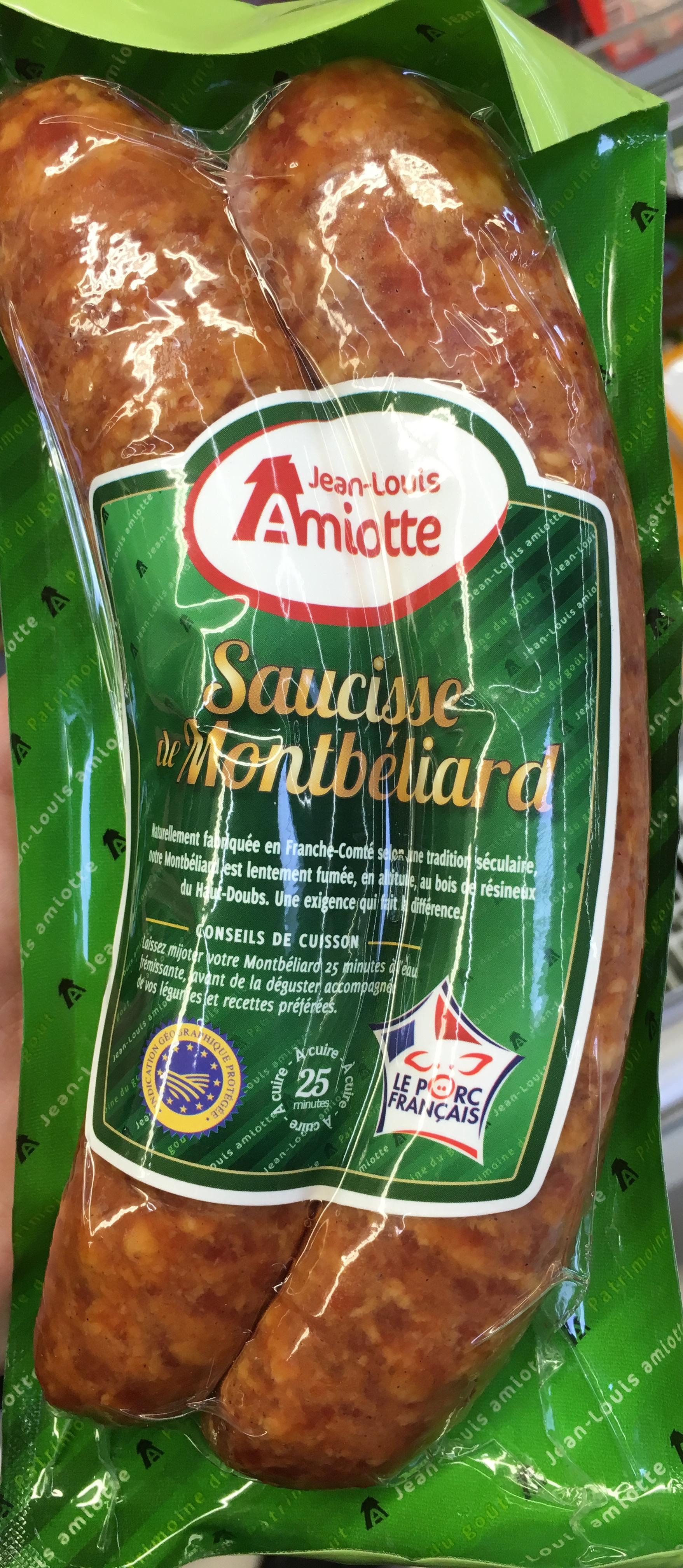 Saucisse de Montbéliard - Produit