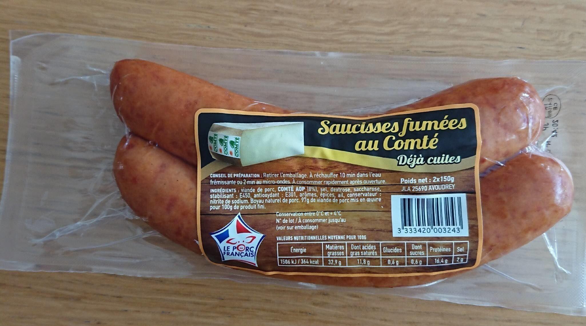 Saucisses fumées au comtè - Produit - fr
