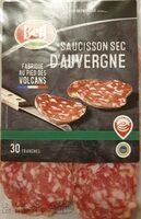 Saucisson sec d'auvergne - Product - fr