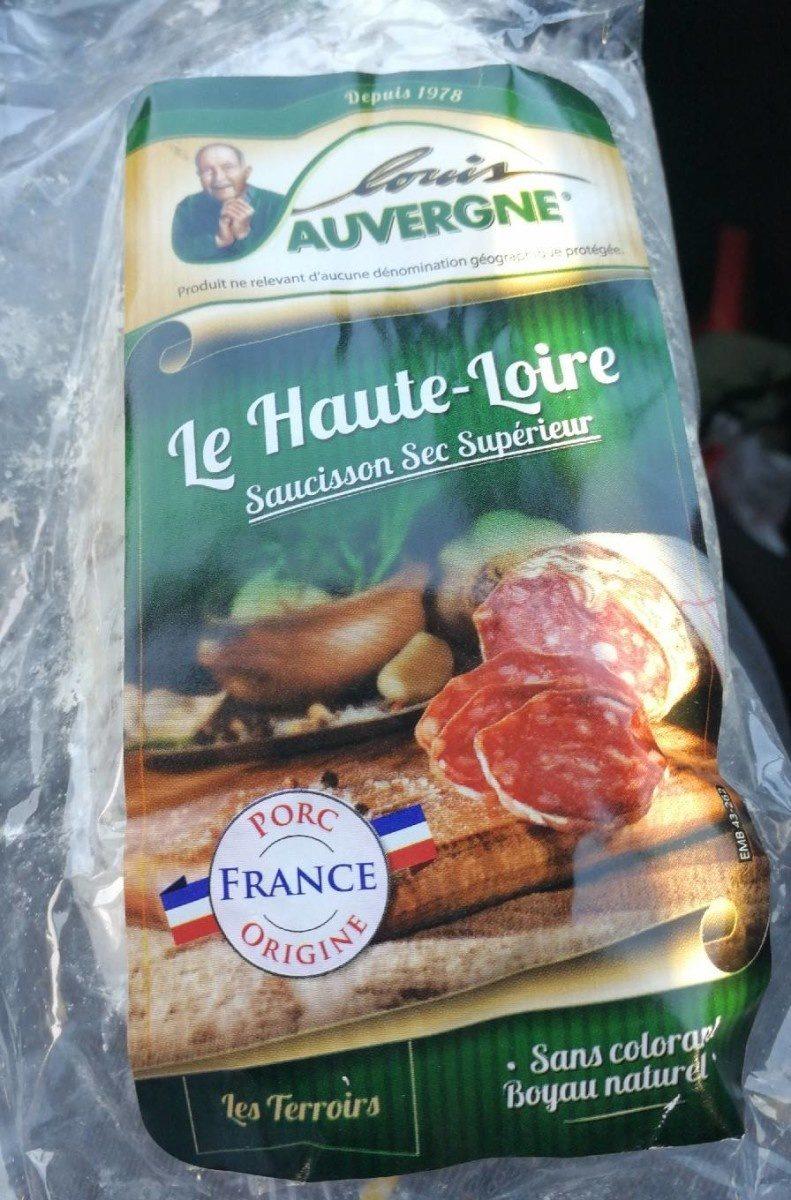 Louis Auvergne saucisson sec supérieur le Haute Loire - Product - fr