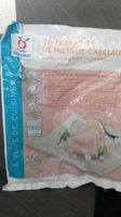 10 tranches de filets de cabillaud - Produit - fr