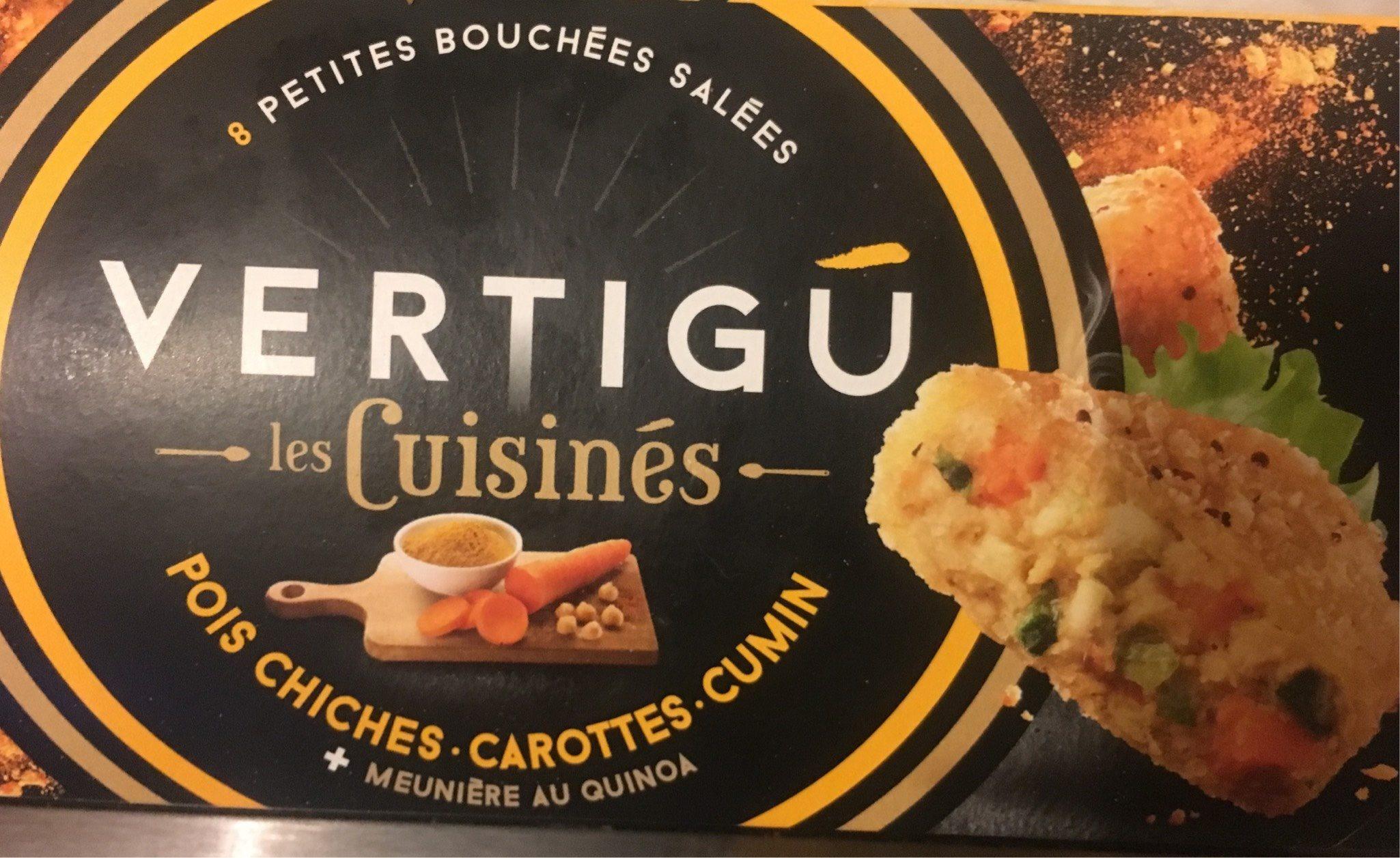 Les cuisinés pois chiches carottes cum - Product