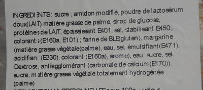 Cornet Crème - Ingrédients - fr