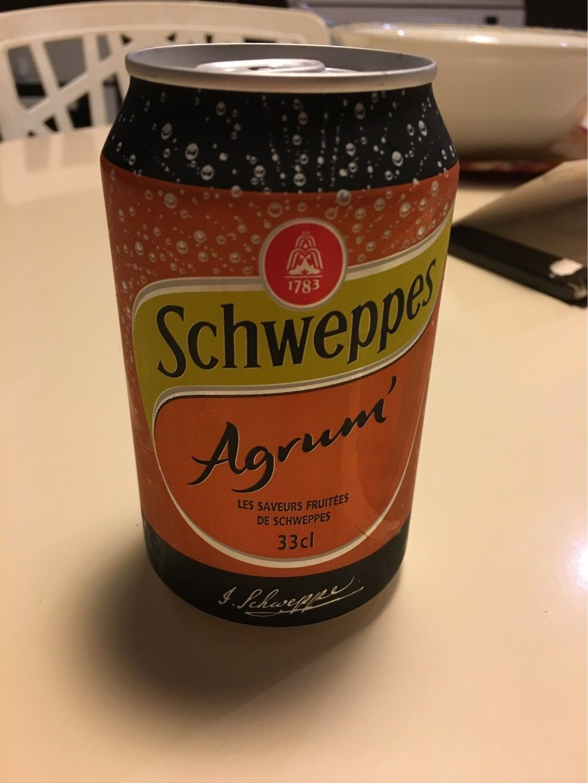 Schweppes Agrum' - Produit