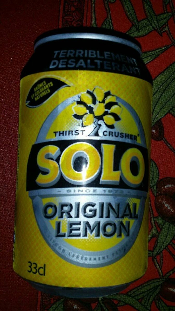 SOLO original lemon - Produit