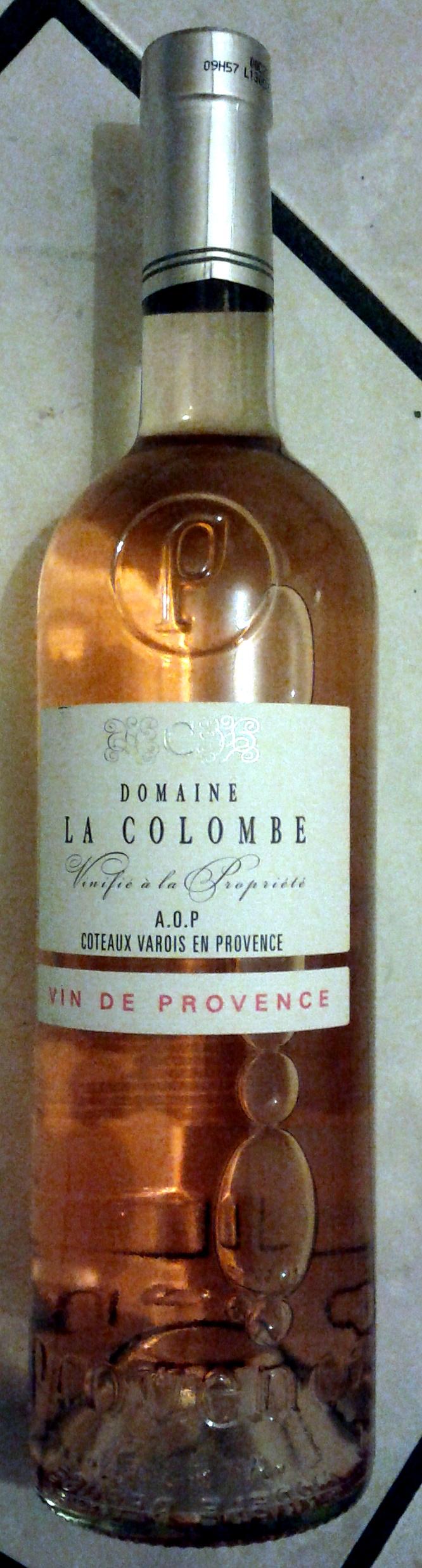 Domaine La Colombe - Côteaux Varois en Provence - Produit - fr