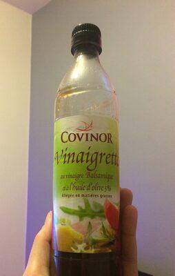 Vinaigrette au vinaigre balsamique et à l'huile d'olive 5% - Ingrediënten