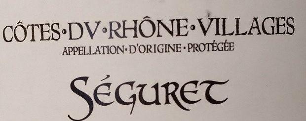 Séguret - Ingredients - fr